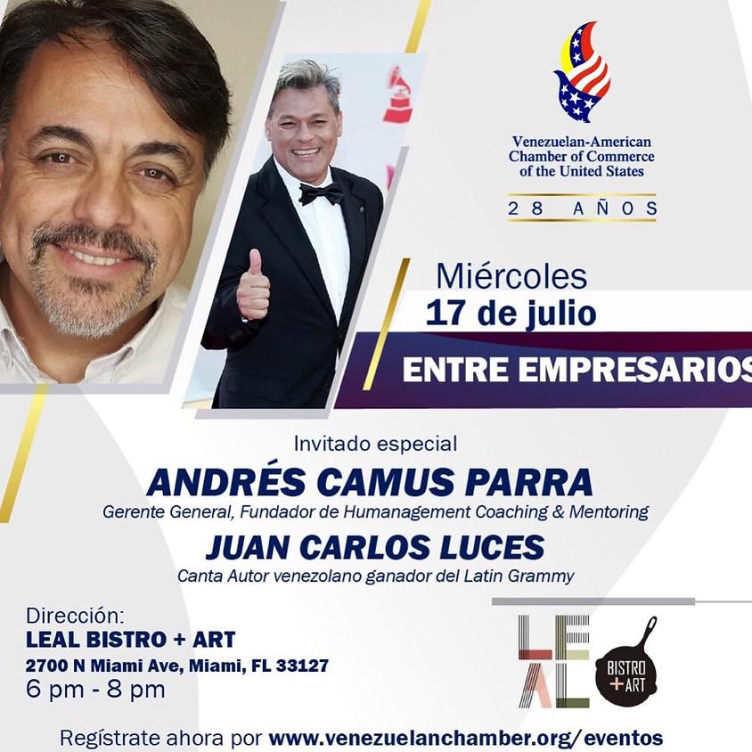 Entre Empresarios  con Andrés Camus Parra