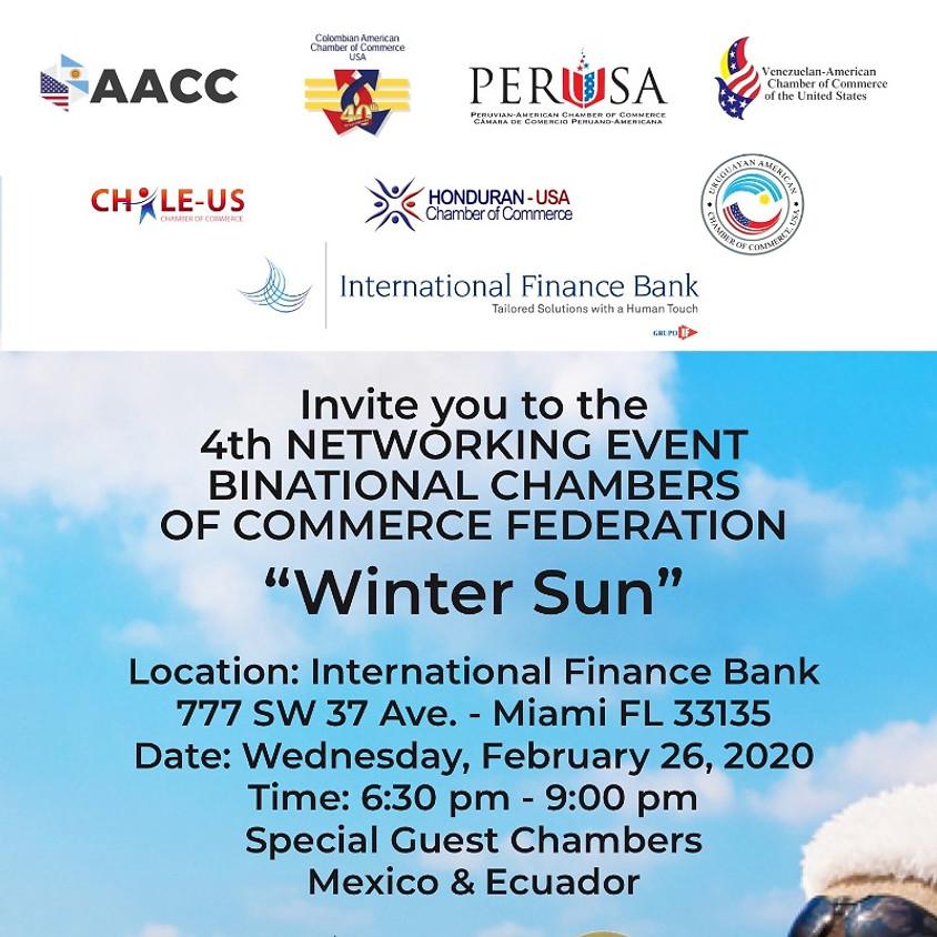 4to Evento de Networking con las Cámaras de Comercio Binacionales