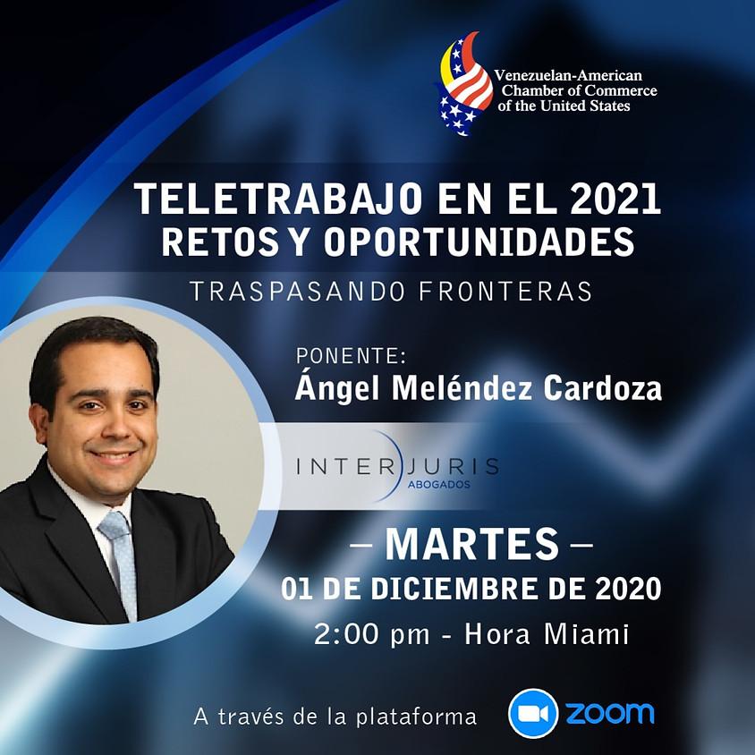 Teletrabajo en el 2021: Retos y oportunidades