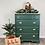 Thumbnail: Green Dresser w/Champagne Gold Hardware