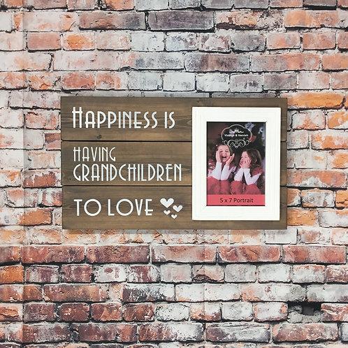 Happiness Is Having Grandchildren to Love
