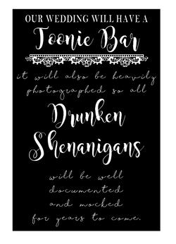 Toonie Bar - Drunken Shenanigans