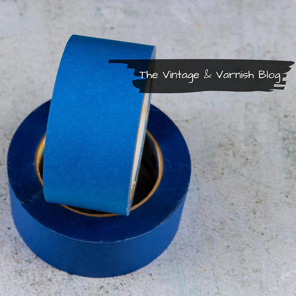 Masking-Tape-Prepping-Furniture-for-Paint-Blog-Tutorial-The-Vintage-and-Varnish-Blog-TSP-Should-You-Use-It