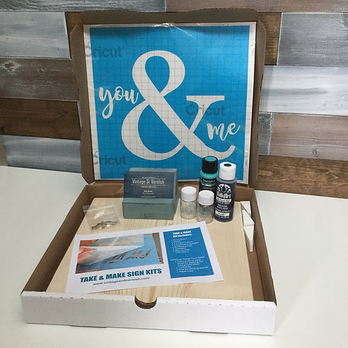 Wood Sign Painting Kit