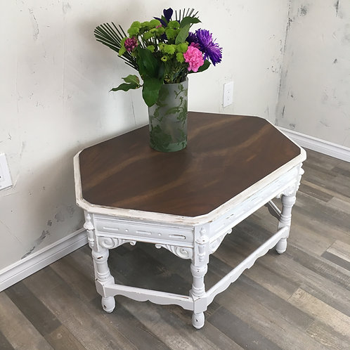Mahogany Farmhouse Coffee Table