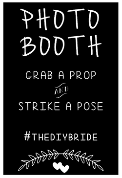 Photo Booth - Grab a Prop