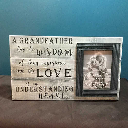 A Grandfather Has The Wisdom Of Long Experience...