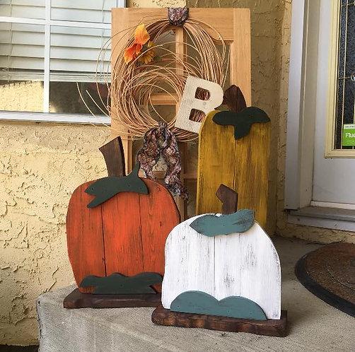 Fall Pumpkin Trio