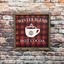 Buffalo Plaid Hot Cocoa