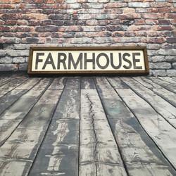 Farmhouse - White - Square