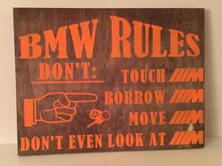 BMW Rules