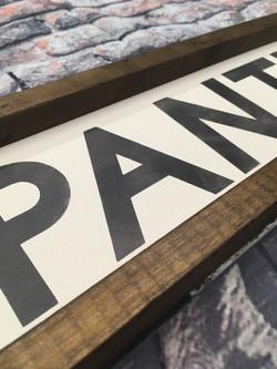 Pantry Detail Shot
