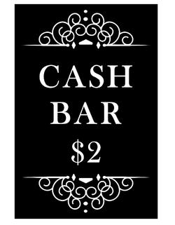 Cash Bar