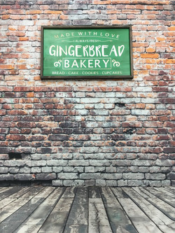 Gingerbread Bakery - Green