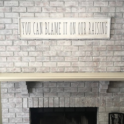 Blame it On Our Raising - Square