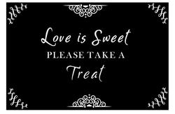 Candy Bar - Love is Sweet