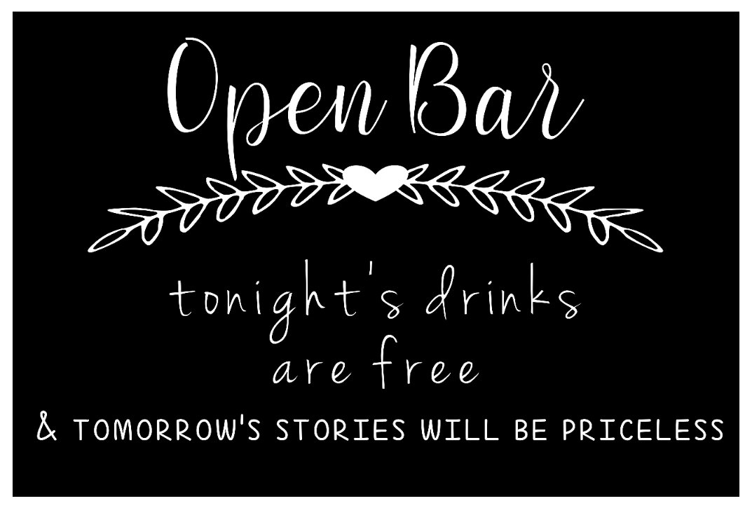 Bar Sign - Open Bar