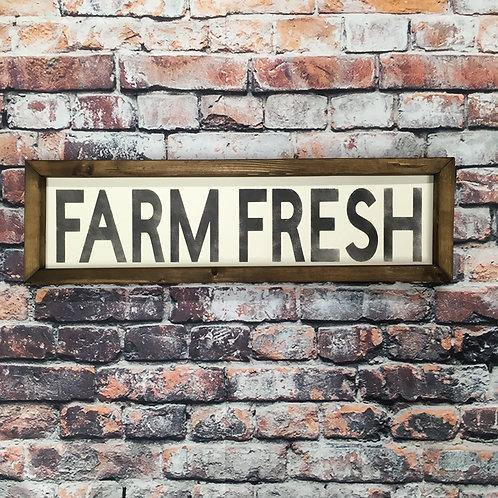 Farm Fresh Farmhouse Sign