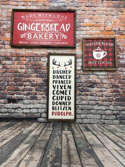 Christmas Farmhouse Signs
