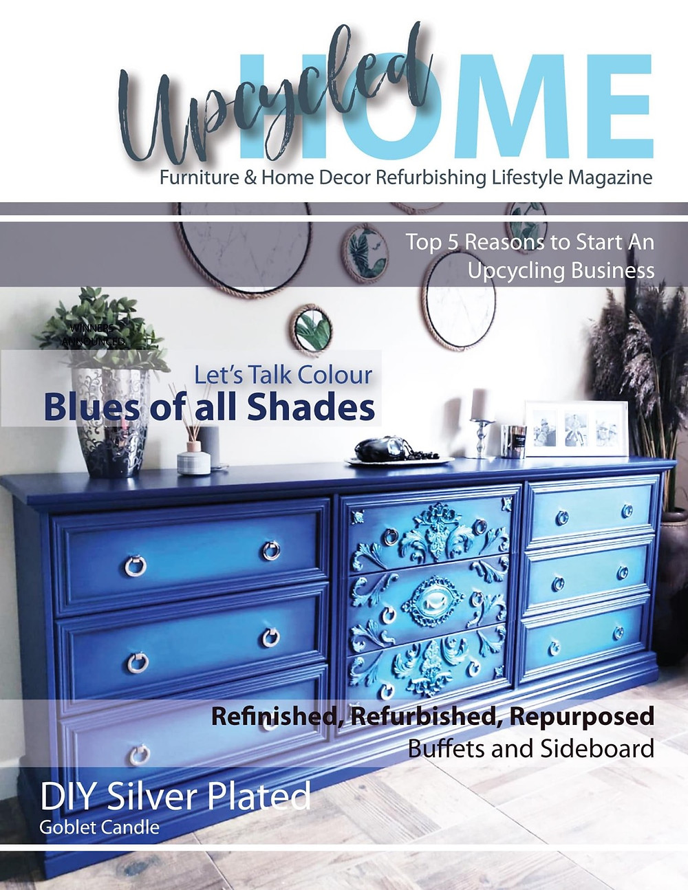 UpcycledHOME-Magazine-Spring 2021-Issue 2-Vintage & Varnish-Furniture & Home Decor Refurbishing Lifestyle Magazine