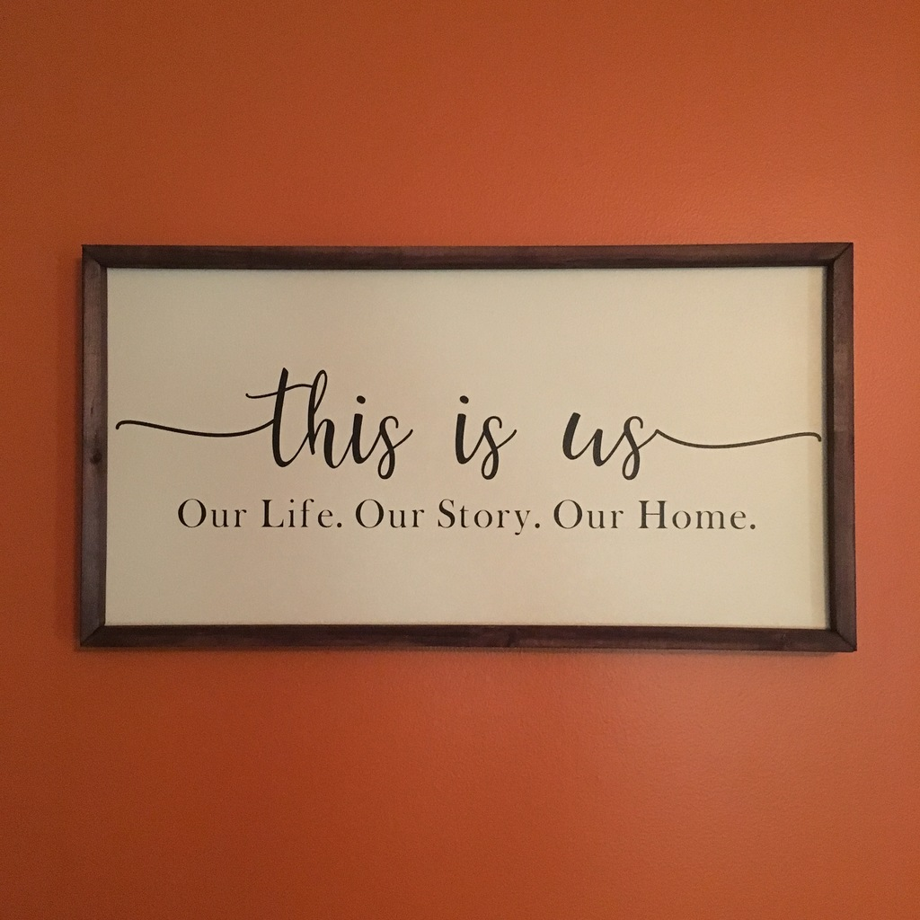 This is Us (Farmhouse Style)