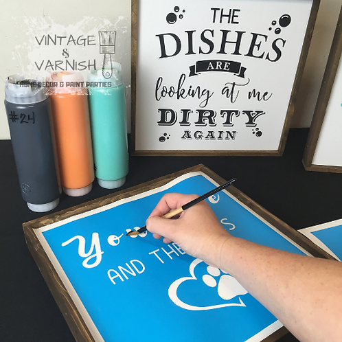 Farmhouse Sign Painting Kit