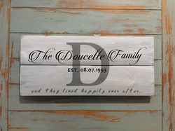 The Doucette Family