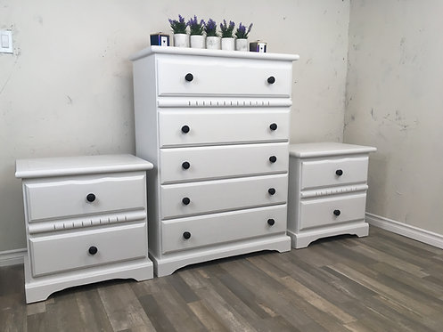 3 Piece Farmhouse Bedroom Suite