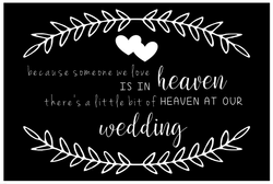 In Memory Sign - Religious