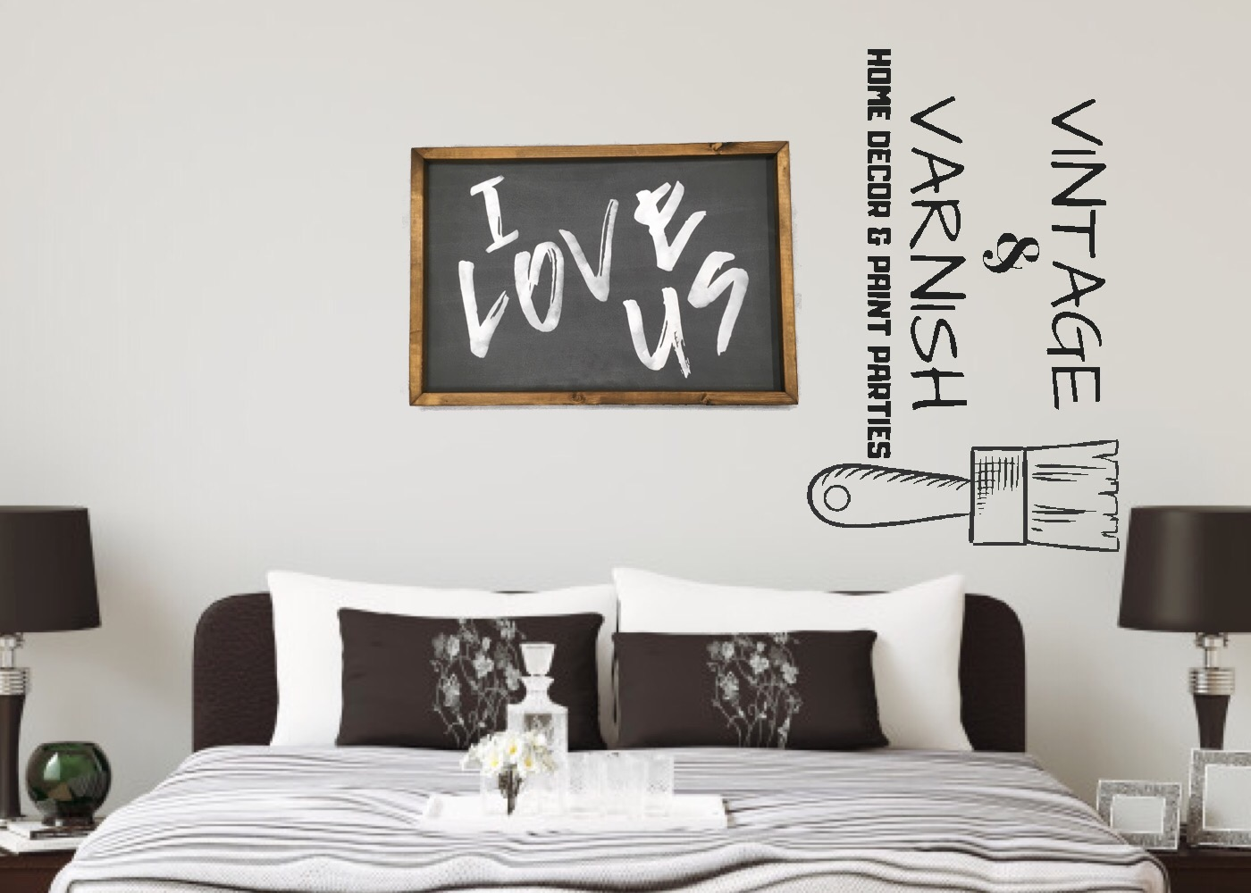 I Love Us - Staged Logo