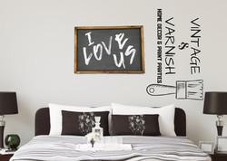 I Love Us - Staged Logo