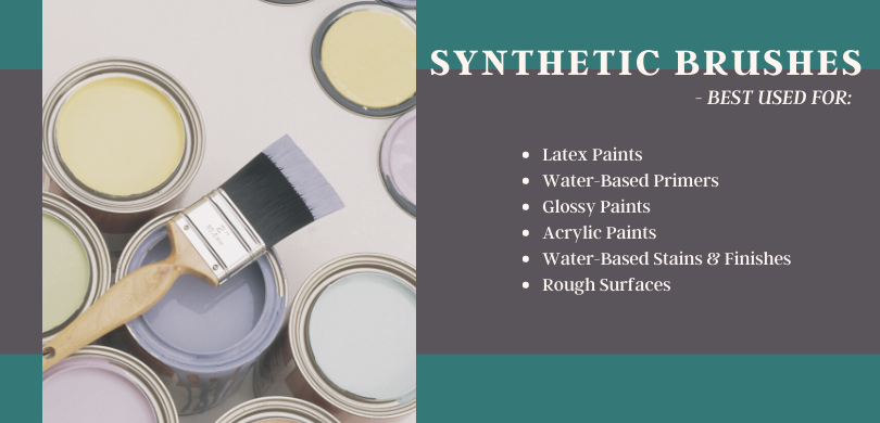 Synthetic Brushes - Best Use - Latex - Acrylic - Painted Furniture - Vintage & Varnish Blog