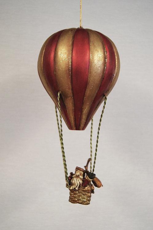 Tomte & Ren i luftballong