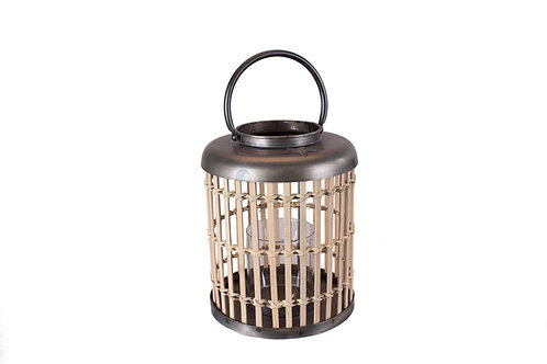 Lykta Bambu/Metall