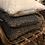 Thumbnail: Kuddfodral lammskinnsimitation grå