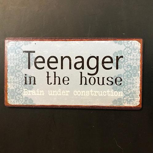 Kylskåpsmagnet/Teenager