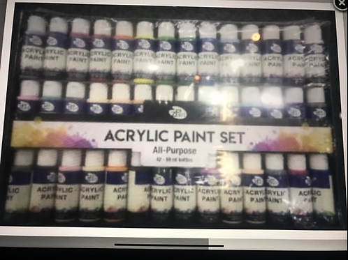 Acrylfärg Megaset 42x59ml