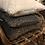 Thumbnail: Kuddfodral lammskinnsimitation brun/grå