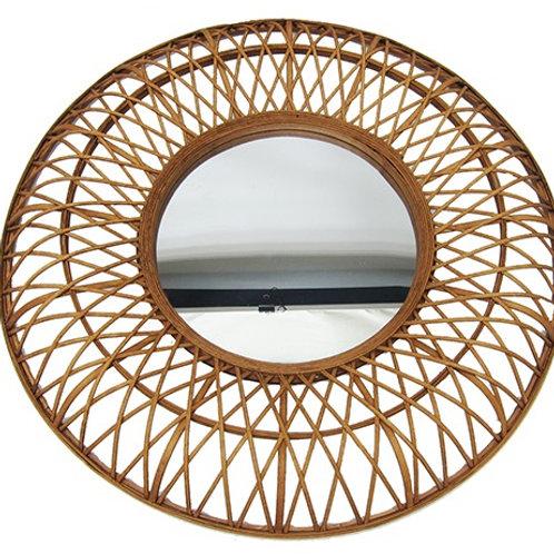 Spegel Rotting Brun