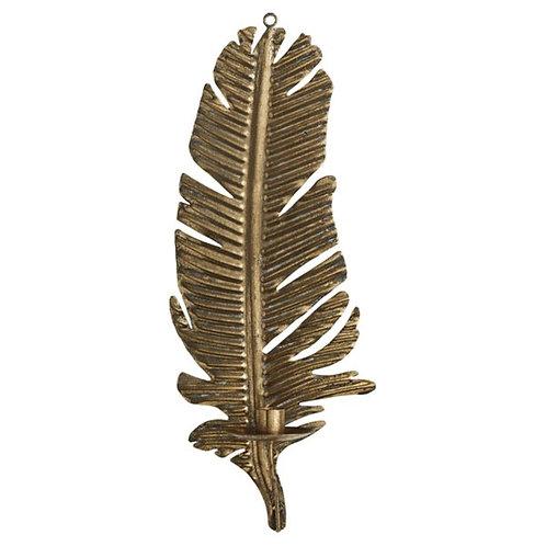Väggljusstake Palm