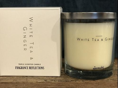 Doftljus White Tea & Ginger