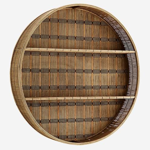 Hylla/rund/Bambu/Madam Stoltz