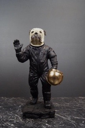 Hund Astronaut