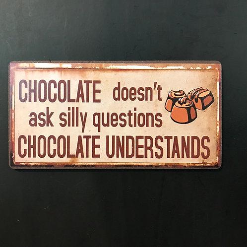 Kylskåpsmagnet/ Chocolate