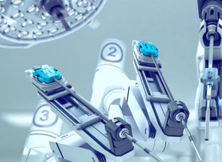 Cirurgia robótica do câncer do reto