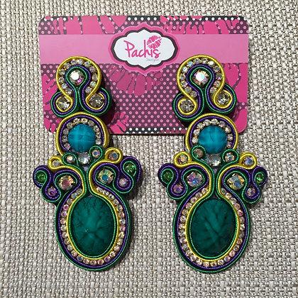 Tasnim ( Green & Purple )