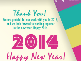 2014 is Here!!! Make it memorable!