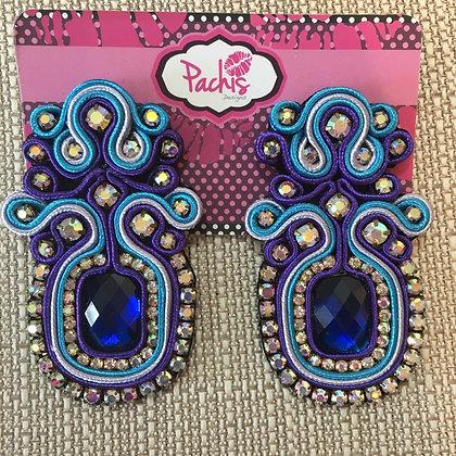 Malak ( Blue & Purple )