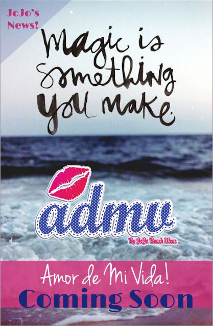 ADMV by JoJo Beach Wear! Coming Soon!
