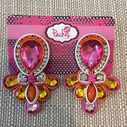 Barika ( Pink & Yellow)
